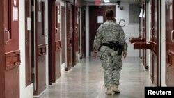 Гуантанамодағы қамау орны.