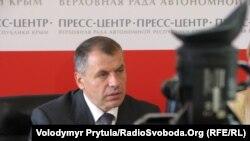 Голова Верховної Ради Криму Володимир Константинов, Сімферополь, 21 вересня 2011 року