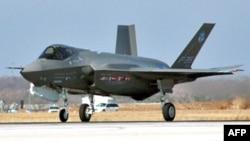 Американски воен авион Ф-35.