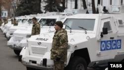 Vëzhgues të OSBE-së në Ukrainë.