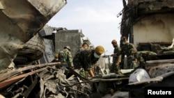Бер ай элек Индонезиянең хәрби очкычы Суматрада кешеләр яшәгән бистәгә төшеп йөздән артык кеше һәлак булды