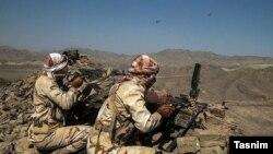 Иран армиясынын жоокерлери.