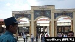 «Сиёб» - центральный рынок в Самарканде.