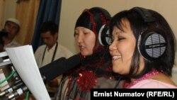 Эфирда кыргыз һәм үзбәк алып баручылары