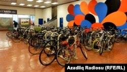 Metroda velosiped yeri