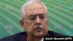 FILE: Pakistan's Attorney-General Anwar Mansoor Khan resigned on February 20.
