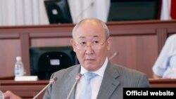 Бывший глава Госслужбы регулирования и надзора за финансовым рынком Юруслан Тойчубеков.