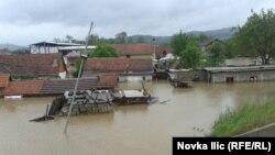 Poplave u Užicu i Požegi