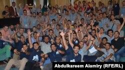 """شبان مشاركون في برنامج """"Startup Weekend"""" في البصرة"""