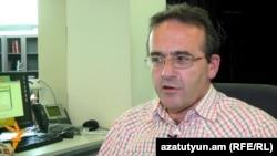 Իրավապաշտպան Արթուր Սաքունցը «Ազատության» ստուդիայում: