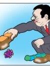 New cartoon from Predrag Koraksić Corax