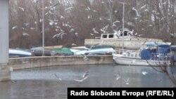 Каналот Студенчишта во Охрид.