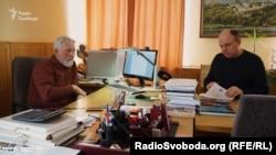 Директор інституту археології НАН України Віктор Чабай