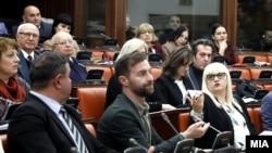 Архивска фотографија- јавна дебата во Собранието за Законот за Јавно обвинителство