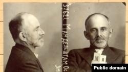 Осип Мандельштам. Тюремная фотография из следственного дела