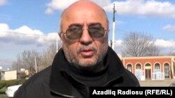 Гасан Гусейнов, арестованный гражданский активист из Гянджи, 31 марта 2014
