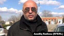Осужденный правозащитник Гасан Гусейнли, 2014