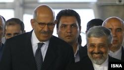 МАГАТЭнин башкы директору Мухаммед ал-Барадейи Тегеранда. 3-октябрь, 2009-ж.