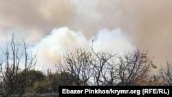 Пожар на горе Агармыш. 1 сентября 2018 года