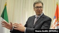 Александр Вучич, Сербия премьер-министрі.