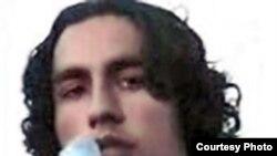 عسگر اکبر زاده، دانشجوی دانشگاه پیام نور که در اردبیل بازداشت شد.