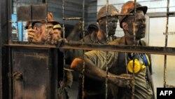 Minatorët e minierës ukrainase, Zasyadko; 6 qershor 2014