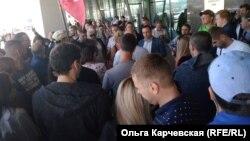 Акция протеста во Владивостоке 17 сентября