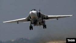 Российский бомбардировщик Су-30