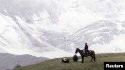 Кыргыз тоосу.