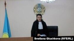 Судья Алматинского районного суда №2 Гульжахан Убашева. Астана, 22 января 2014 года.