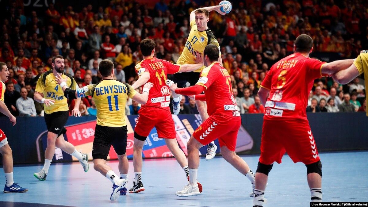 Гандбол: Украина во второй раз уступила на чемпионате Европы