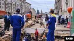 Реконструкции Тверской улицы в Москве
