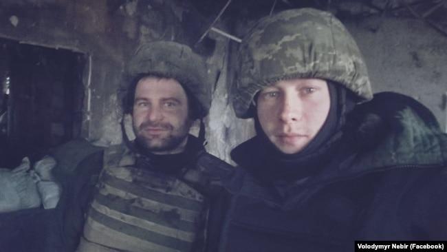 «Кіборги» «Лєший» і «Доктор Хаос» на вежі Донецького аеропорту, 21 січня 2015 року