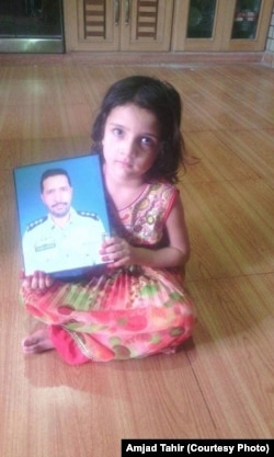 Tahir Dawar's daughter Fatima hopes to soon reunite with her father.