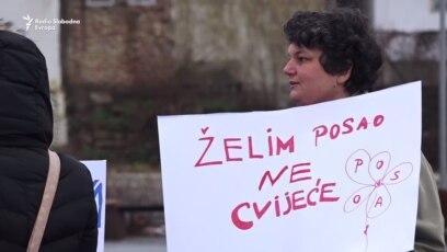 Prosvjedni marš u Tuzli 8. marta, kako bi se ukazalo na diskriminaciju koju žene u BiH doživljavaju svakodnevno