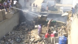 Pakistani Passenger Jet Crashes Near Karachi