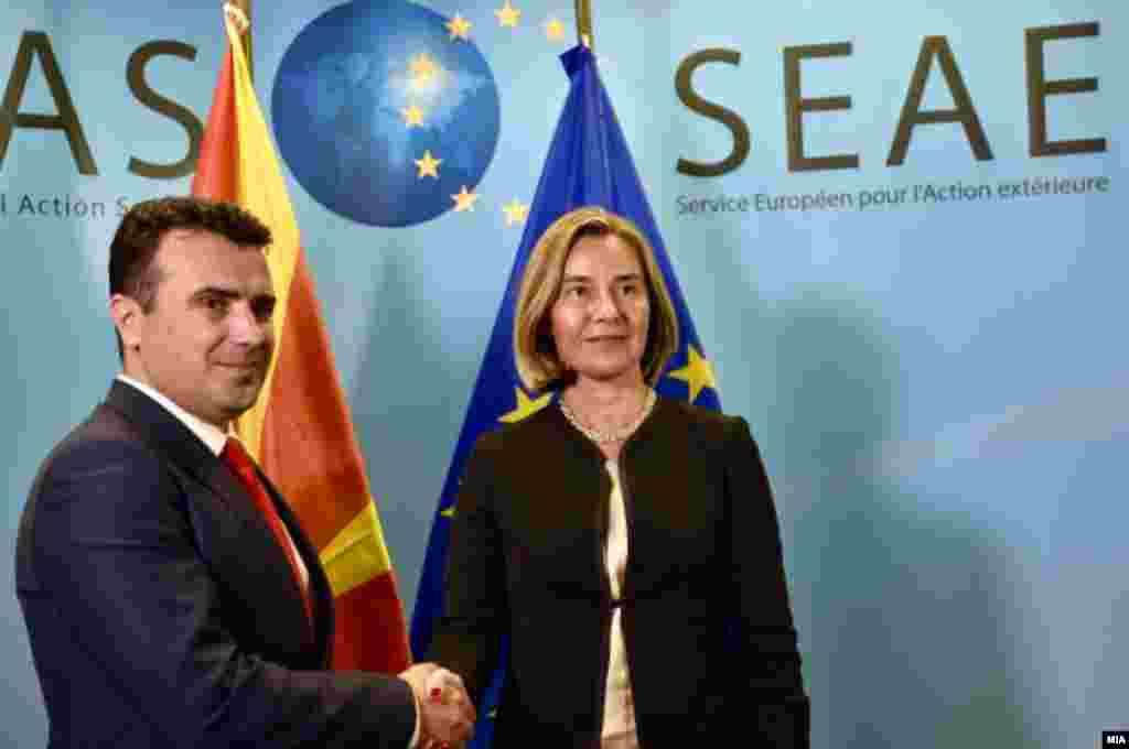 БЕЛГИЈА - Високата претставничка за надворешна политика и безбедност на ЕУ, Федерика Могерини изјави дека Западен Балкан претставува стратешки регион за Европа и иако тој се уште не е целосно дел од Унијата, сепак е Европа.