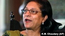 Звіт підготувала Асма Джганґір, пакистанська правозахисниця і адвокат, спеціальний доповідач ООН щодо прав людини в Ірані, яка померла минулого місяця