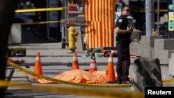 На месте инцидента в Торонто
