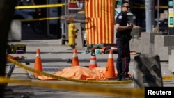 На месте инцидента в Торонто - один из девяти погибших, 23 апреля 2018