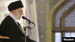 آیت الله علی خامنه ای، رهبر جمهوری اسلامی ایران