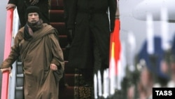 В 2008 году Муамара Каддафи встречали в Москве с государственными почестями