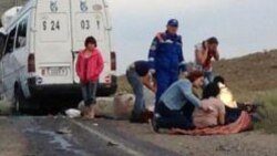 Türkmenistanly ýük ulag sürüjisi ýol heläkçiliginde aradan çykdy