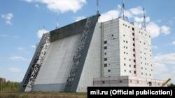 Російська радарна станція «Волга» поблизу Барановичів. Білорусь