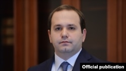 Armenia - Georgi Kutoyan, the newly appointed director of the National Security Service, February 12, 2016.