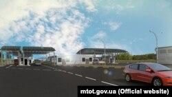 Проект реконструкции КПВВ на админгранице с Крымом