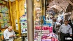 تصویری از بازار تاریخی تبریز