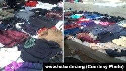 Türkmenabat, köne zatlaryň bazary.