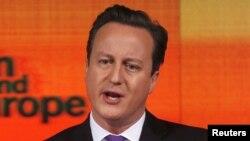 David Cameron, kryeministër i Britanisë së Madhe