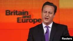 Dejvid Kameron drži govor o Britaniji i EU, 23. januar 2013.